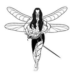 Girl fairy 2021 0003 vector