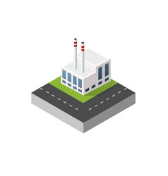 isometric urban icon vector image