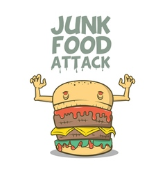 Junk food attack vector