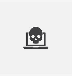scam base icon simple sign scam vector image