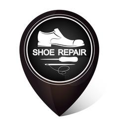 Shoe repair symbol vector