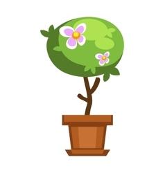 Garden tree vector image vector image