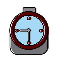 alarm time clock vector image
