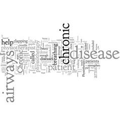 Chronic airways disease vector