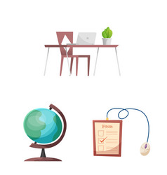 Education and learning icon vector
