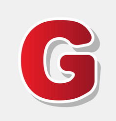 letter g sign design template element new vector image