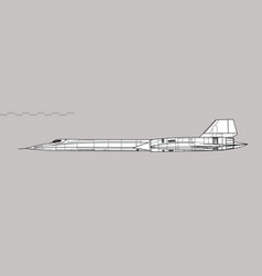 Lockheed a-12 vector