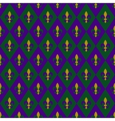Mardy gras background vector image