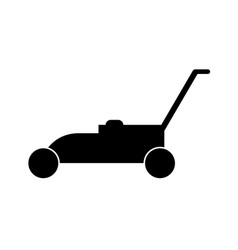 mower machine icon vector image
