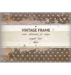 Rustic Vintage Frame vector