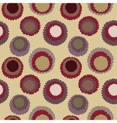 Seamless polka dot motley texture Abstract vector image