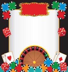 casino night party vector image vector image
