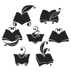 Library collection vector
