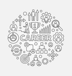 Modern career vector