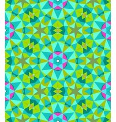 Multicolor geometric pattern in bright color vector image