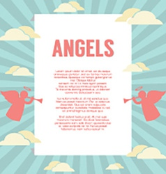 Angles With Pipes Background vector image
