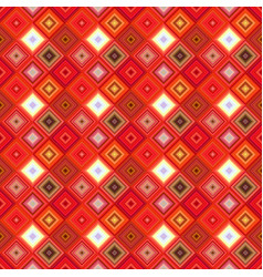 colorful seamless abstract diagonal square mosaic vector image