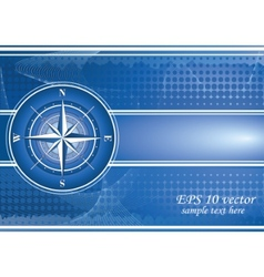 Compass background vector