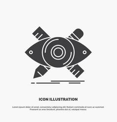 design designer sketch tools icon glyph gray vector image