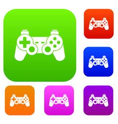 Game controller set collection vector