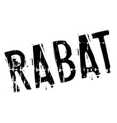 Rabat stamp rubber grunge vector