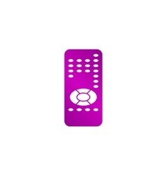 remote control icon vector image