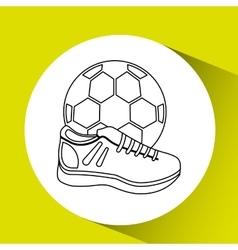 Soccer sport design vector