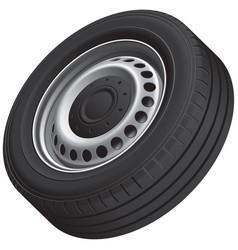 typical vans wheel vector image