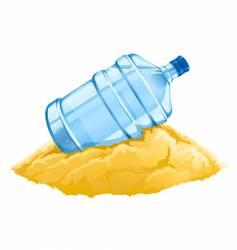 water cooler bottle vector image