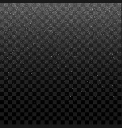 Snowfall texture for christmas design vector