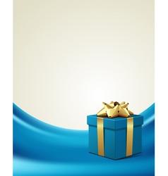 elegant present background vector image vector image
