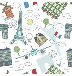 Paris Pattern 01 A vector image