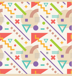 abstract geometric background seamless vector image