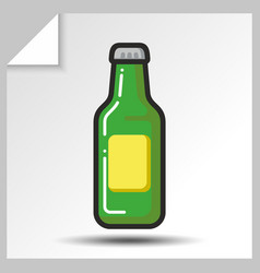 beer icons 2 vector image