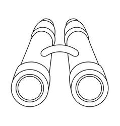 binoculars icon image vector image vector image