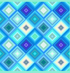 Blue seamless abstract diagonal square pattern vector