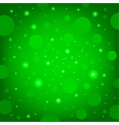 circular effects green background vector image