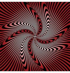 Design whirlpool movement warped background vector