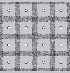 dotted checkered background in modern style vector image