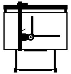 drawing board vector image