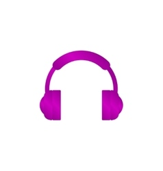 headphone icon Flat vector image