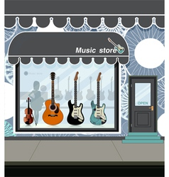 Music store vector