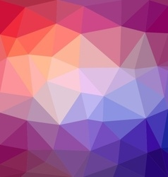 Triangle mosaic background vector