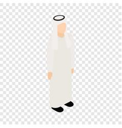 male arab isometric icon vector image