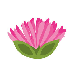 pink flower spring image vector image vector image