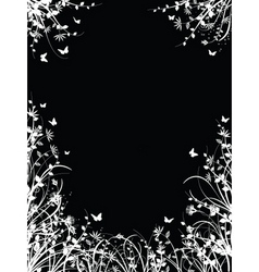 floral chaos vector image vector image