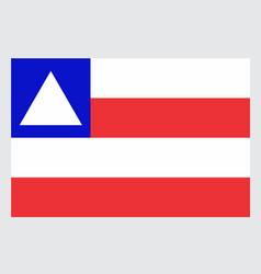 bahia state flag vector image
