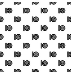 car tire pattern seamless vector image