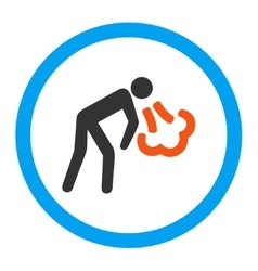 Cough Rounded Icon vector