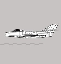 Dassault md 452 mystere ii vector